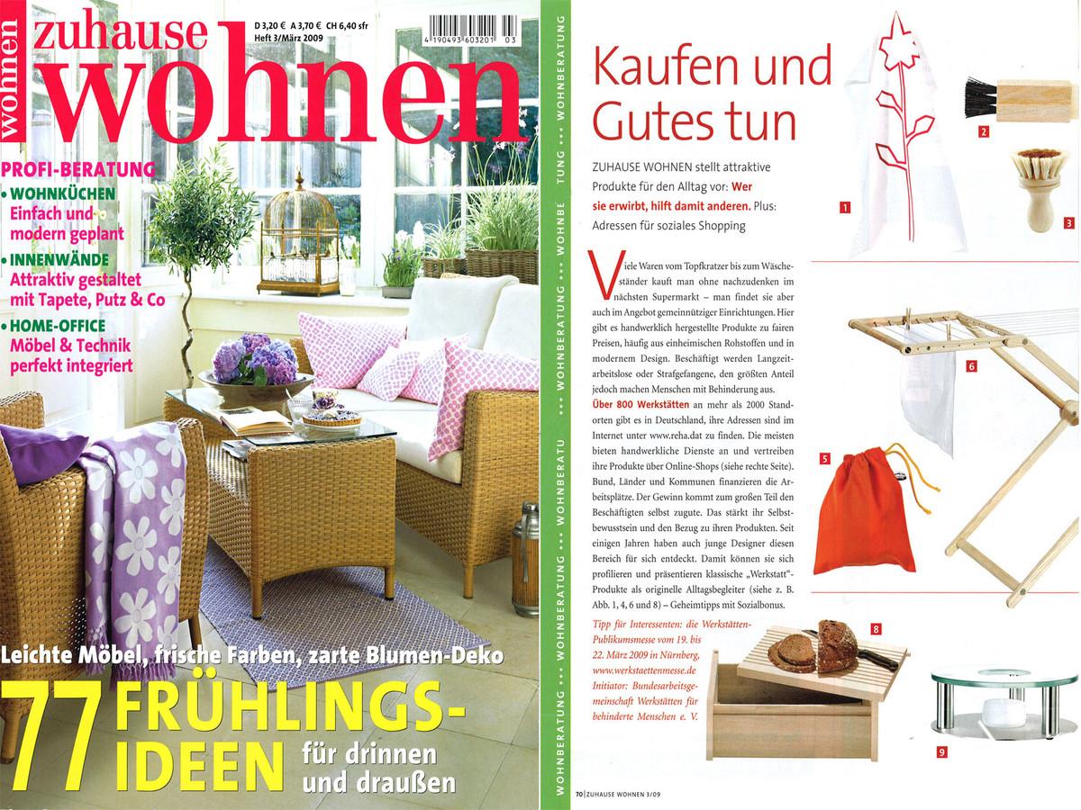 2009 03 Zuhause Wohnen Artikel 1600x1200