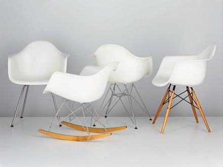 Eames Plastic Armchair und Side Chair