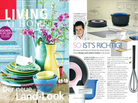 Living At Home, Nr.9/2011, Metall & Glas: Ganz Professionell
