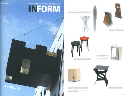 "Inform, 02/03 2012, S.27, ""Hocker / stool / tabouret"""