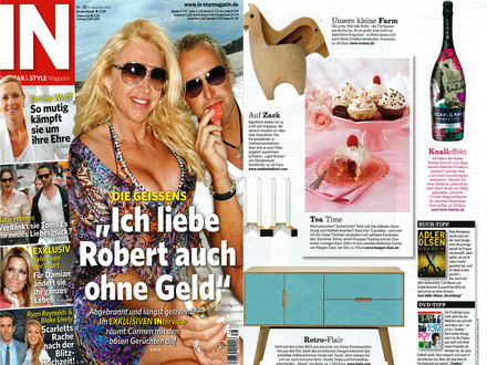 In Magazin September 2012 Cover + Artikel