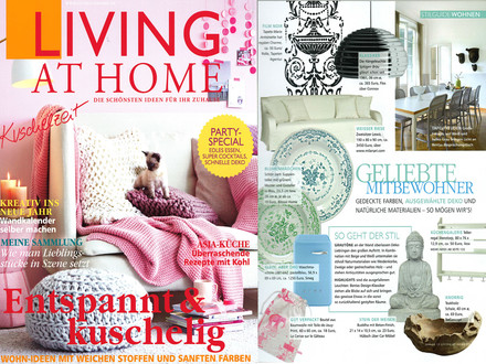 Presse Living at Home Nr. 1 / 2013