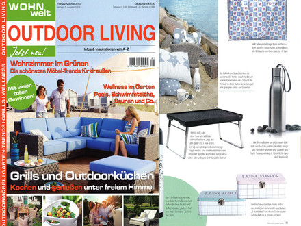 Presse Outdoor Living Nr. 3/2013