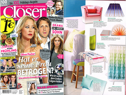 Closer April 2013 - Cover + Artikel