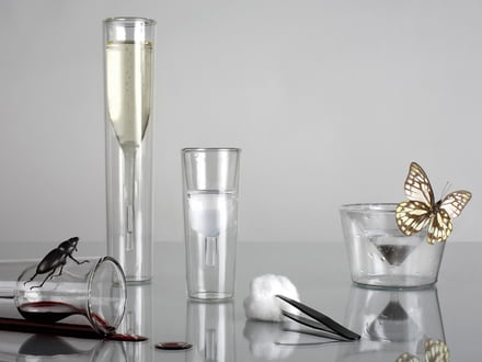 Charles & Marie - InsideOut Martini Glas und Champagner Glas