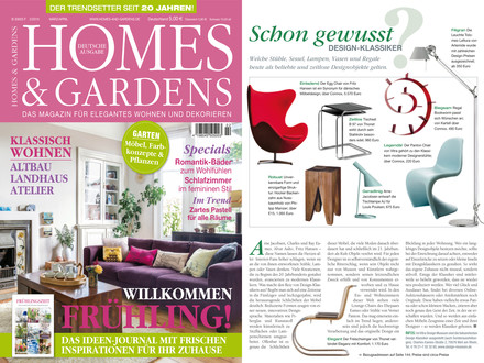 Homes & Gardens März/April 2015