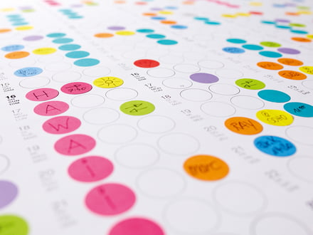 Der Dot on Wandkalender von Dotty Edition