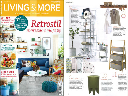 Living & More - April 2016 Inhalt