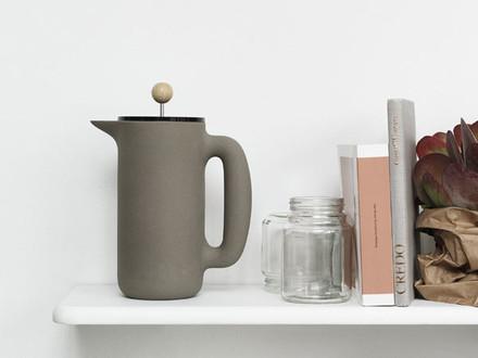 Kaffeebereiter  Kaffeebereiter aus Edelstahl und Glas | Connox Shop