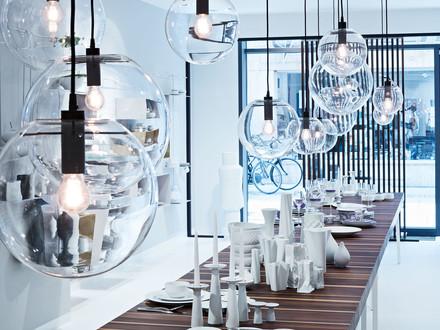 pendelleuchte aus glas online kaufen connox shop. Black Bedroom Furniture Sets. Home Design Ideas