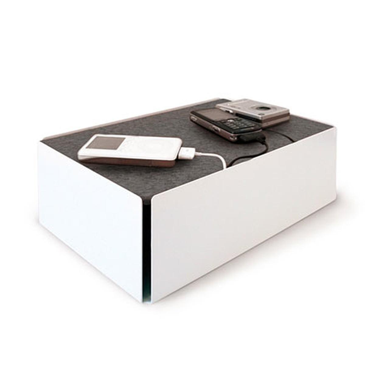 Konstantin Slawinski - Charge-Box, weiß / Filz grau