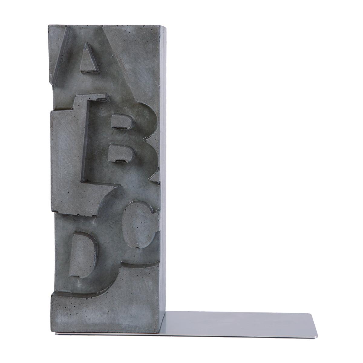 Korn Produkte - ABCD Buchstütze | Wohnzimmer > Regale > Hängeregale | Korn Produkte