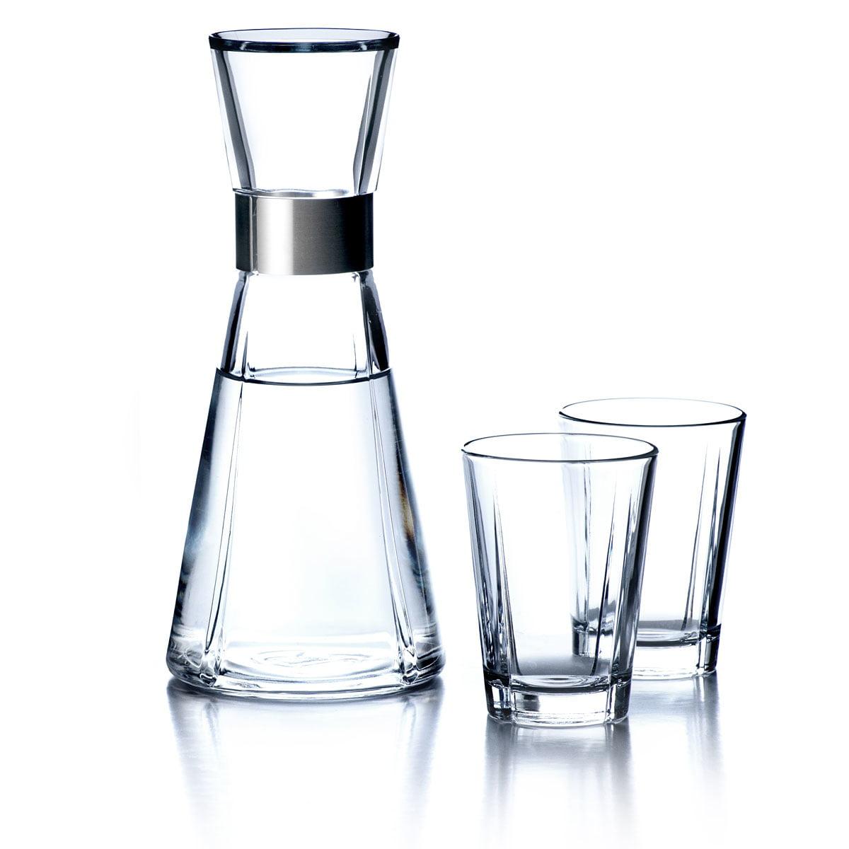 Grand Cru Wasserkaraffe + 2 Wassergläser