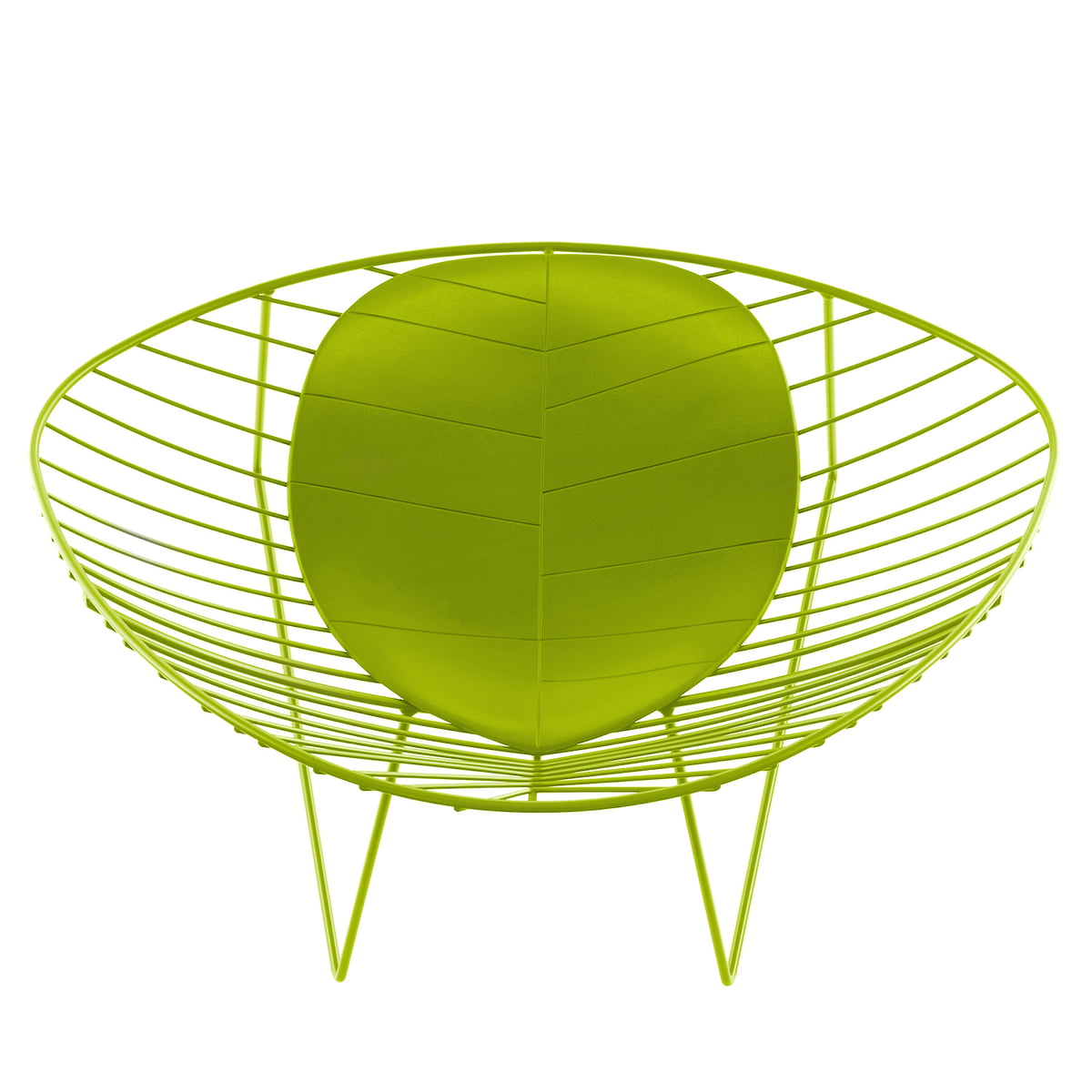 Leaf Lounge-Sessel, grün