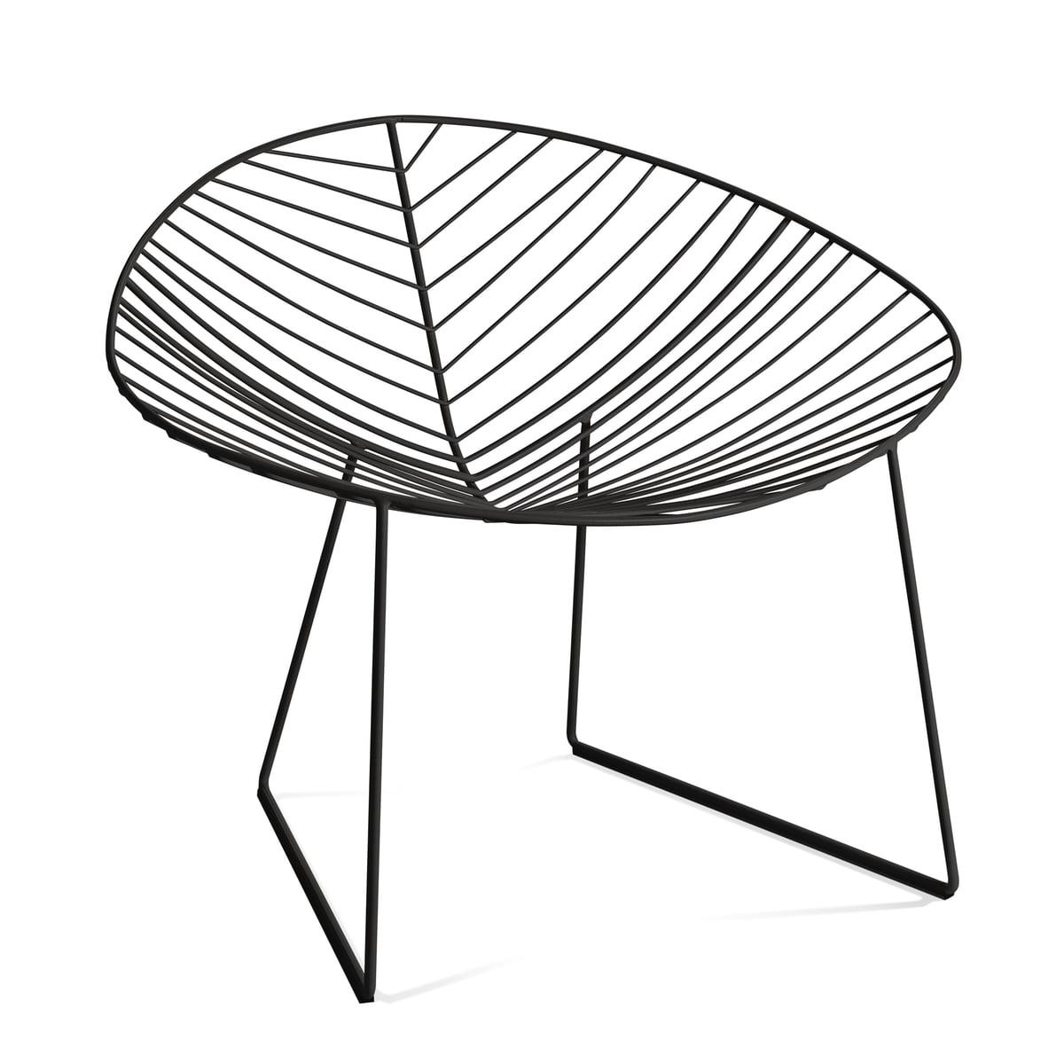 Leaf Lounge-Sessel, mokka