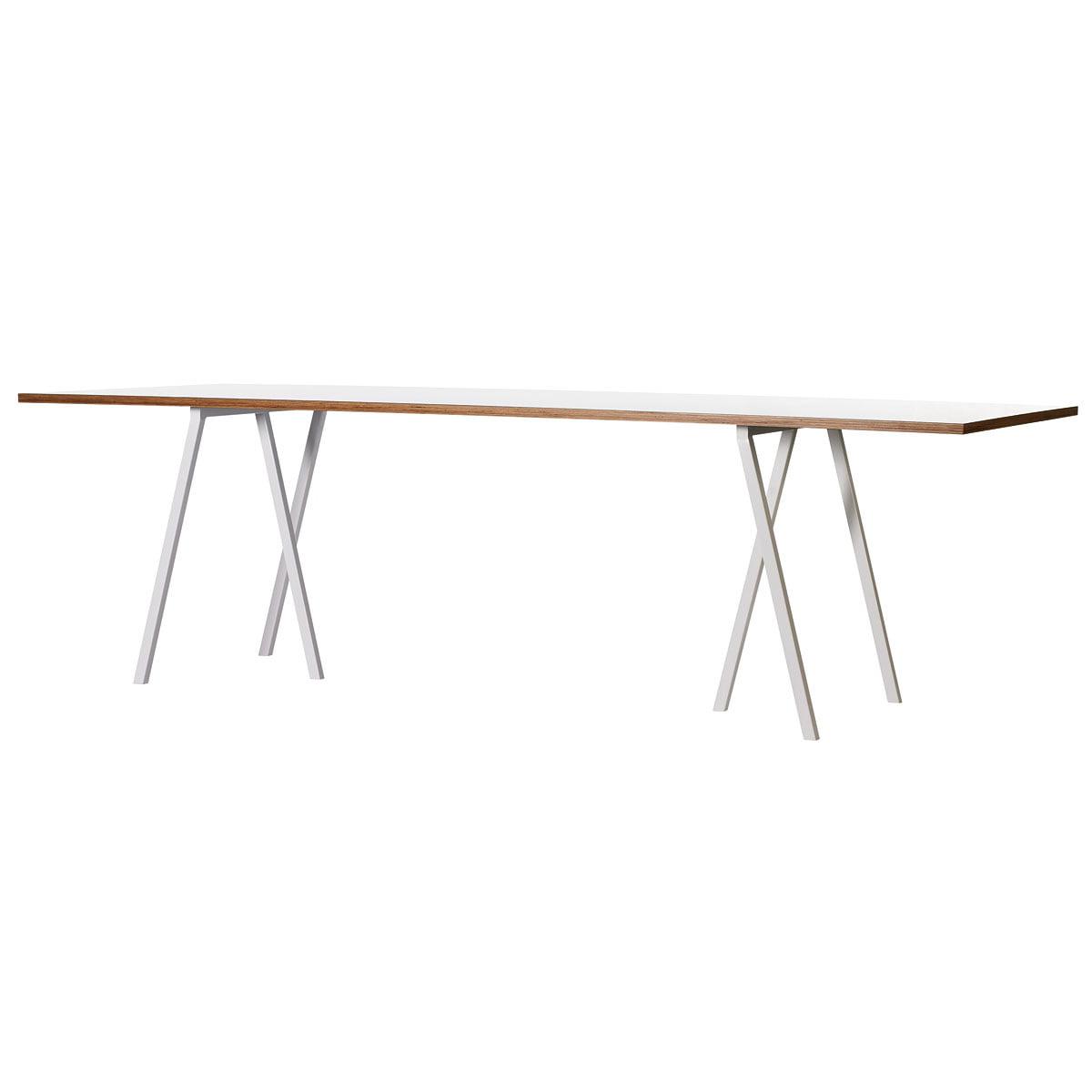 Loop Stand Tisch, 200, weiß