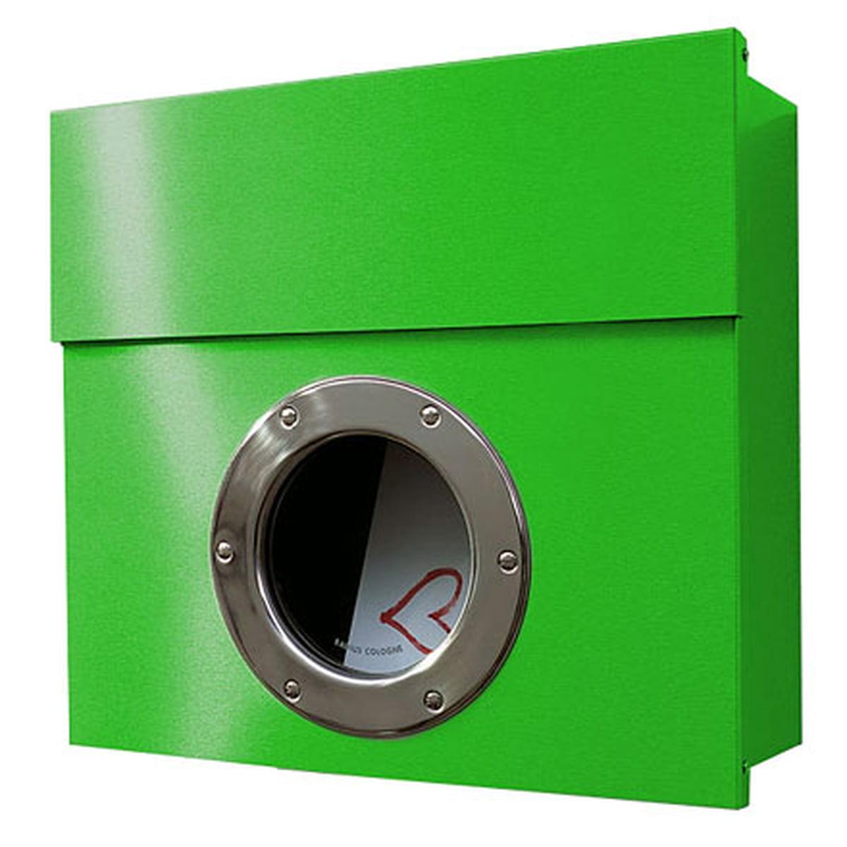Briefkasten Letterman, grün