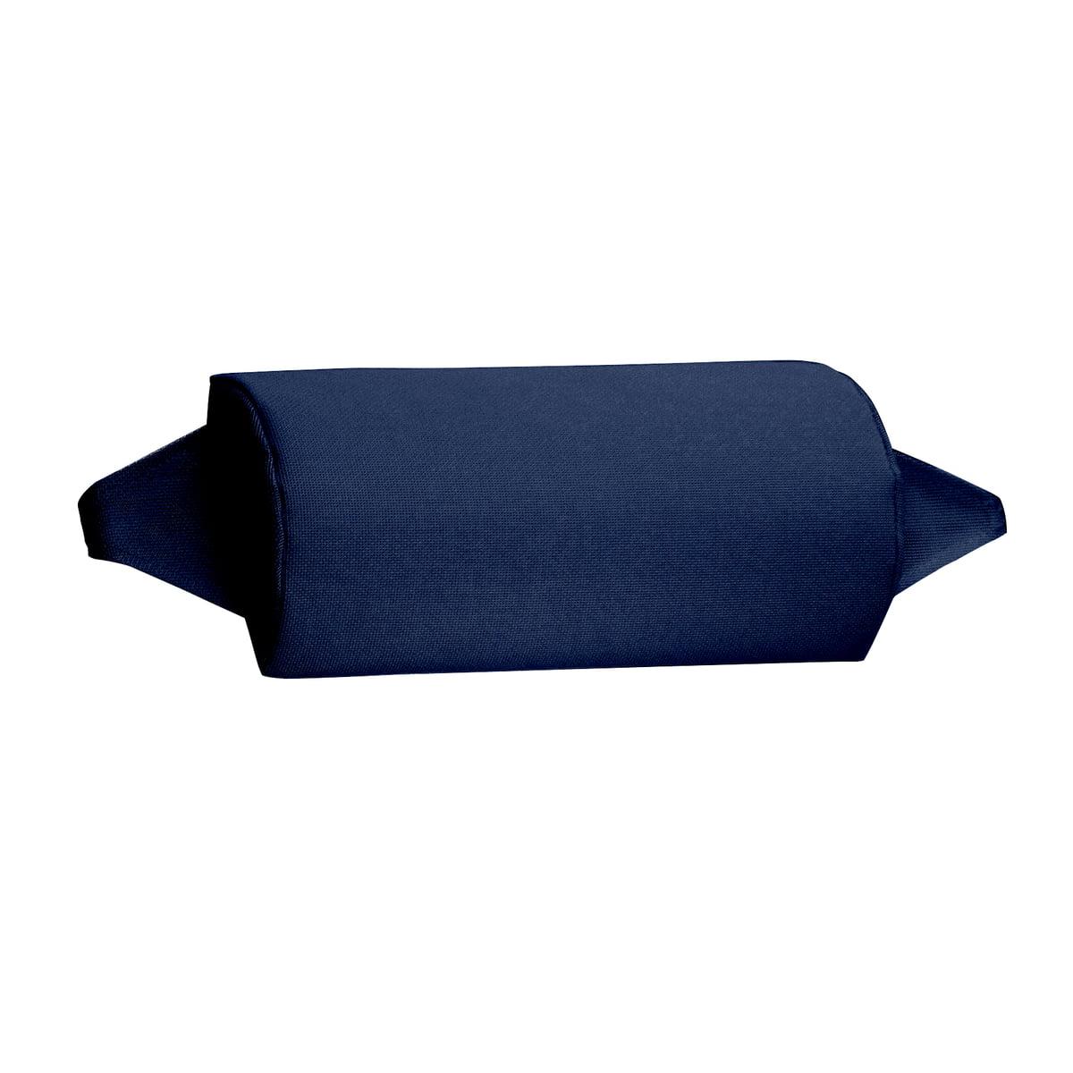 Fiam - Nackenrolle, dunkelblau | Schlafzimmer > Kopfkissen > Nackenstützkissen & Nackenrollen | Fiam