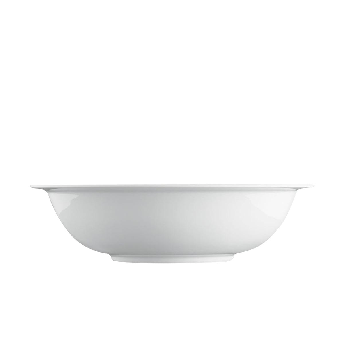 Wagenfeld - Schüssel rund, Ø 22 cm, weiß