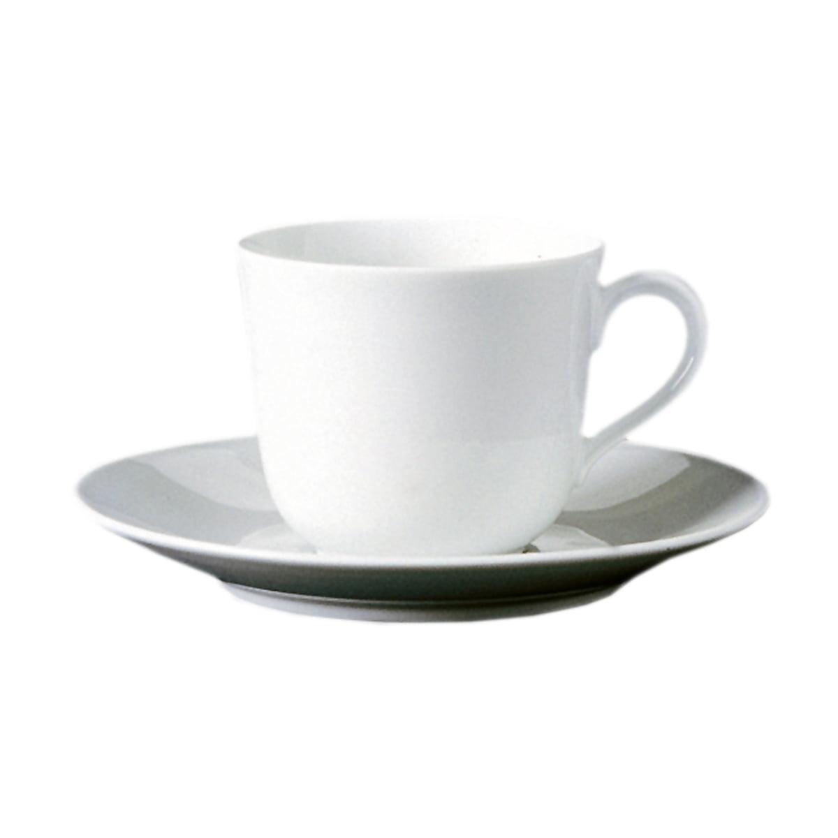 Wagenfeld - Kaffeetasse 2-tlg., weiß