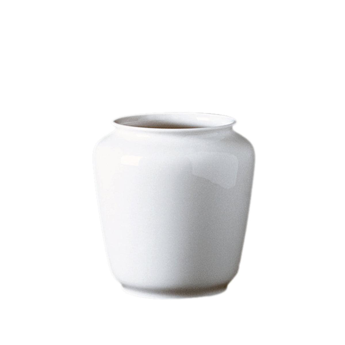 Wagenfeld Vase 639 - 14 cm, weiß