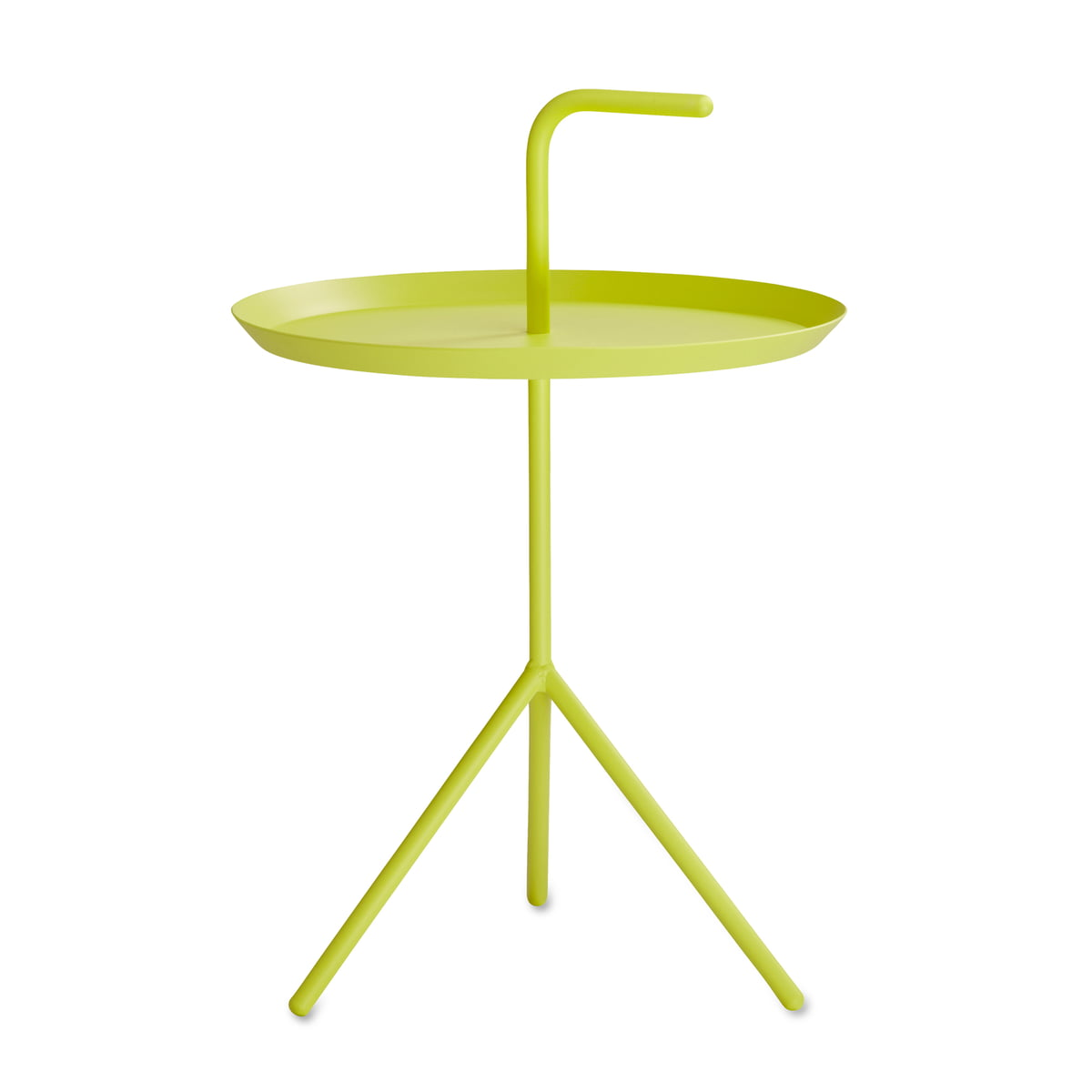 Beistelltisch metall gelb  DLM Beistelltisch von Hay im Wohndesign-Shop