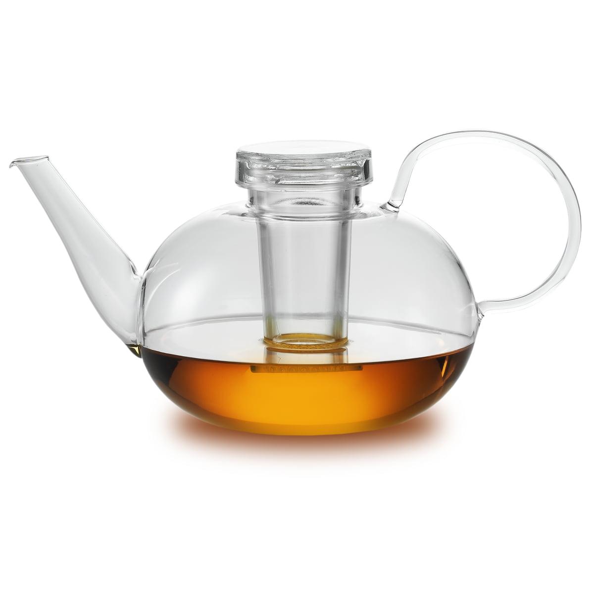 Jenaer Glas - Wagenfeld Teekanne mit Deckel und Filter | Küche und Esszimmer > Kaffee und Tee > Teekocher | Zwiesel Kristallglas AG