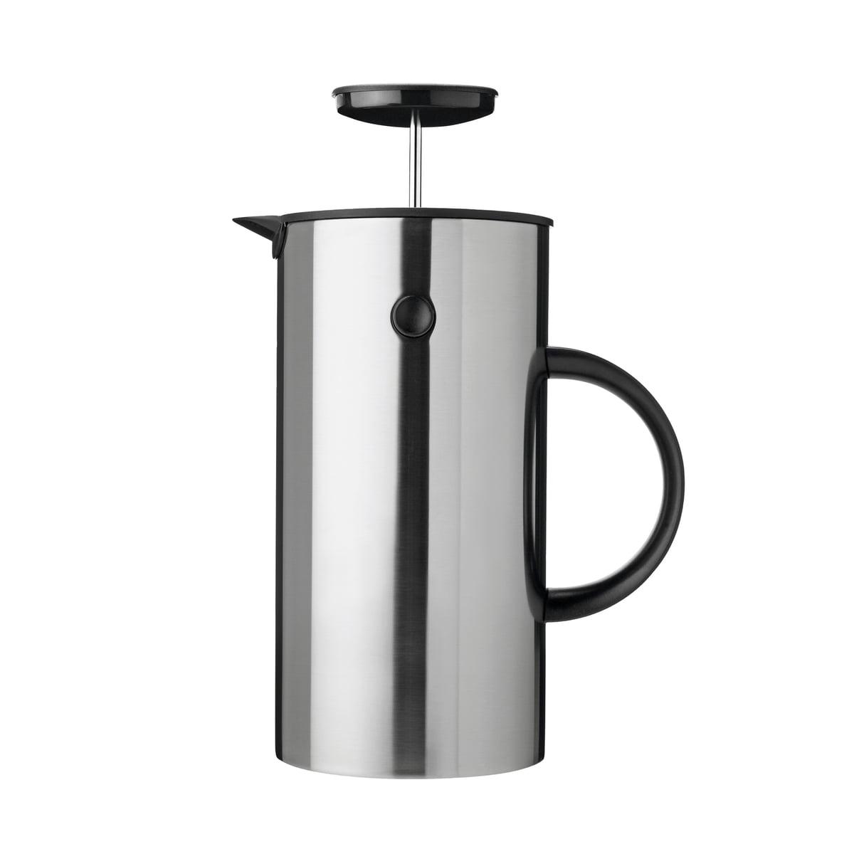 Kaffeezubereiter, 8 Tassen, Stahl