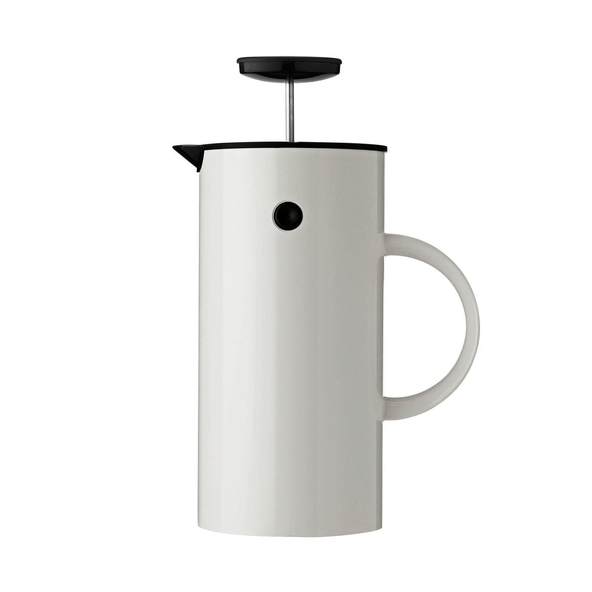 Kaffeezubereiter, 8 Tassen, weiß