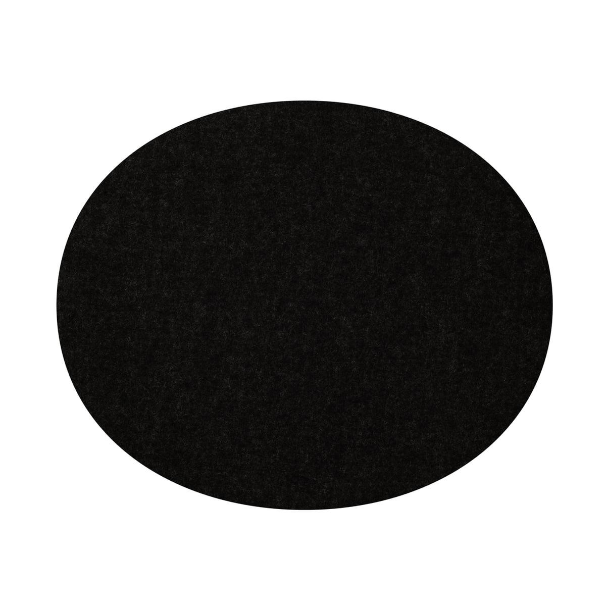Filz-Auflage Panton Chair, schwarz 5mm AR