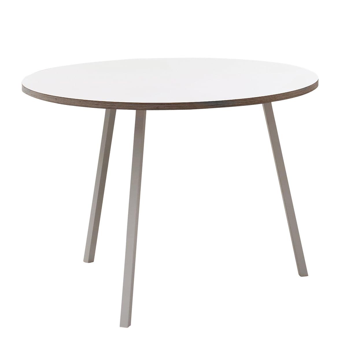 Tisch designklassiker rund  Loop Stand Tisch rund von Hay im Shop