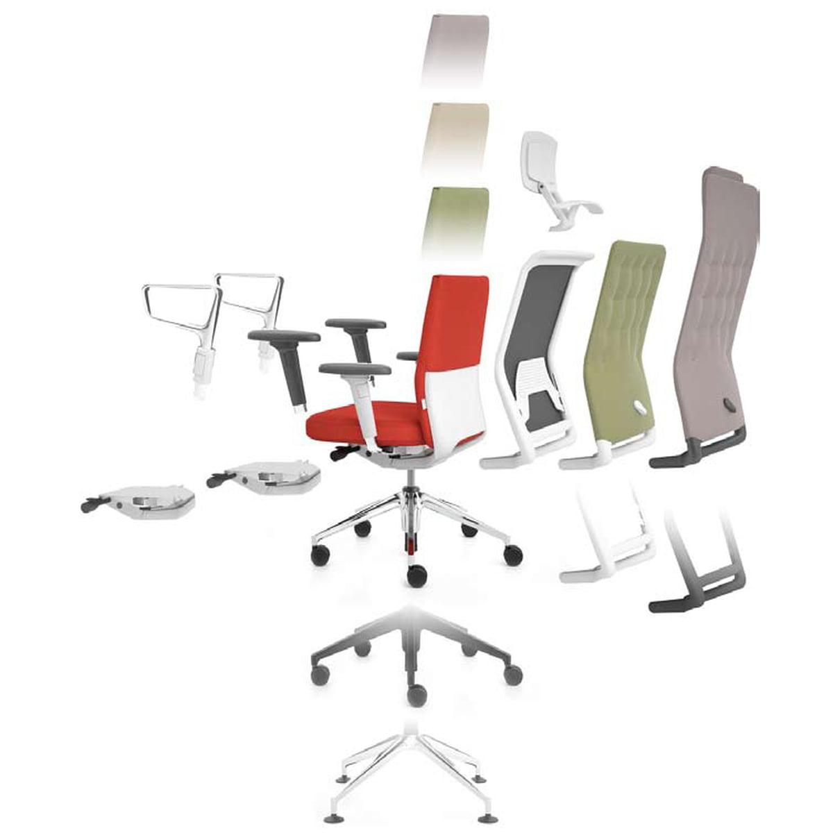 Bürostuhl skizze  ID-Bürostuhl Soft von Vitra im Wohndesign-Shop