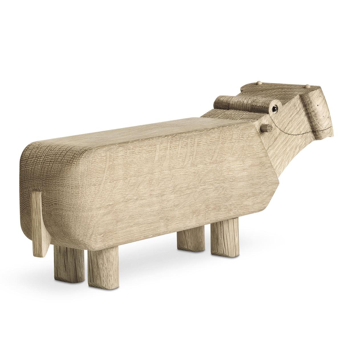 Kay Bojesen Holz Flusspferd Als Geschenk