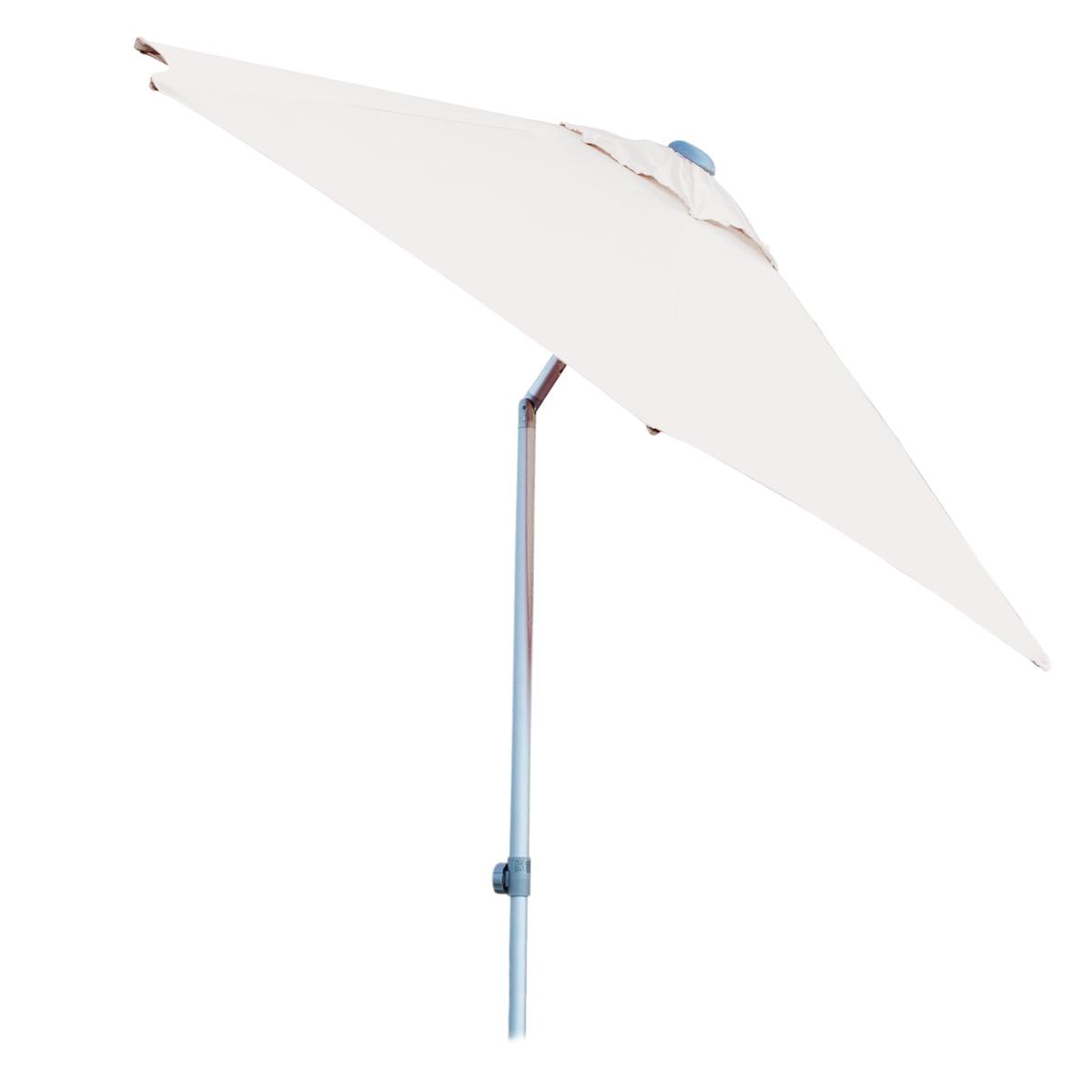 Elba Sonnenschirm, rund, Ø 300 cm, weiß