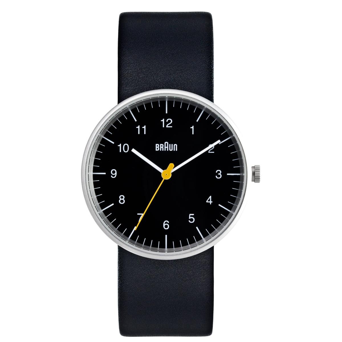 Quarz-Herrenarmbanduhr BN0021, schwarz