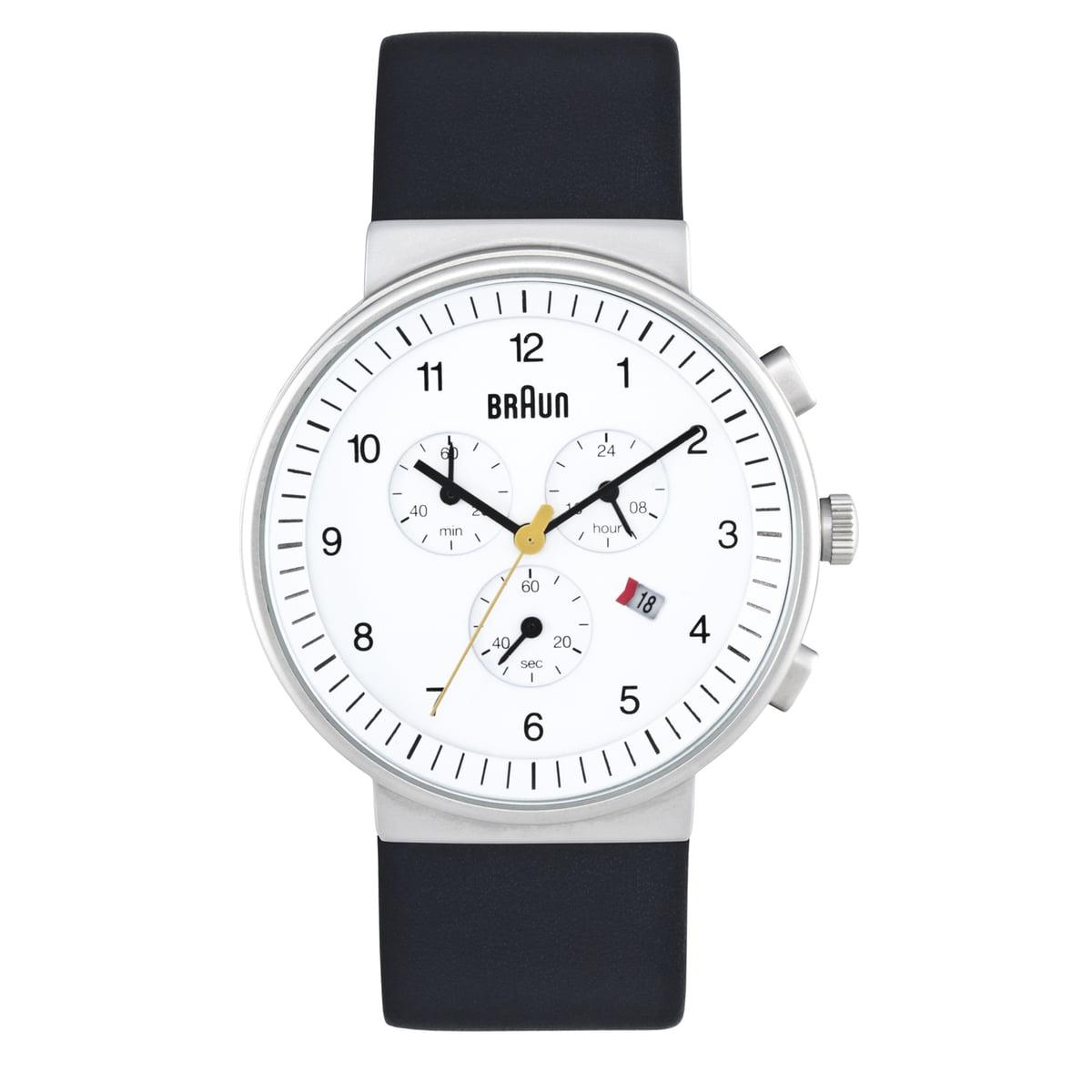 Quarzchronograph BN0035, weiß