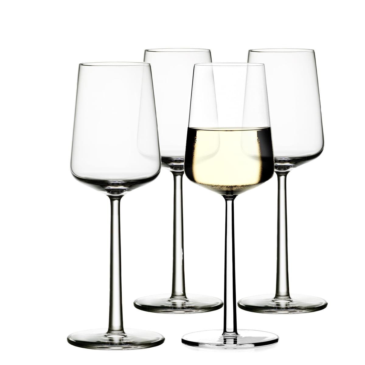 Iittala - Essence Weißwein-Glas, 33 cl (4er Set)
