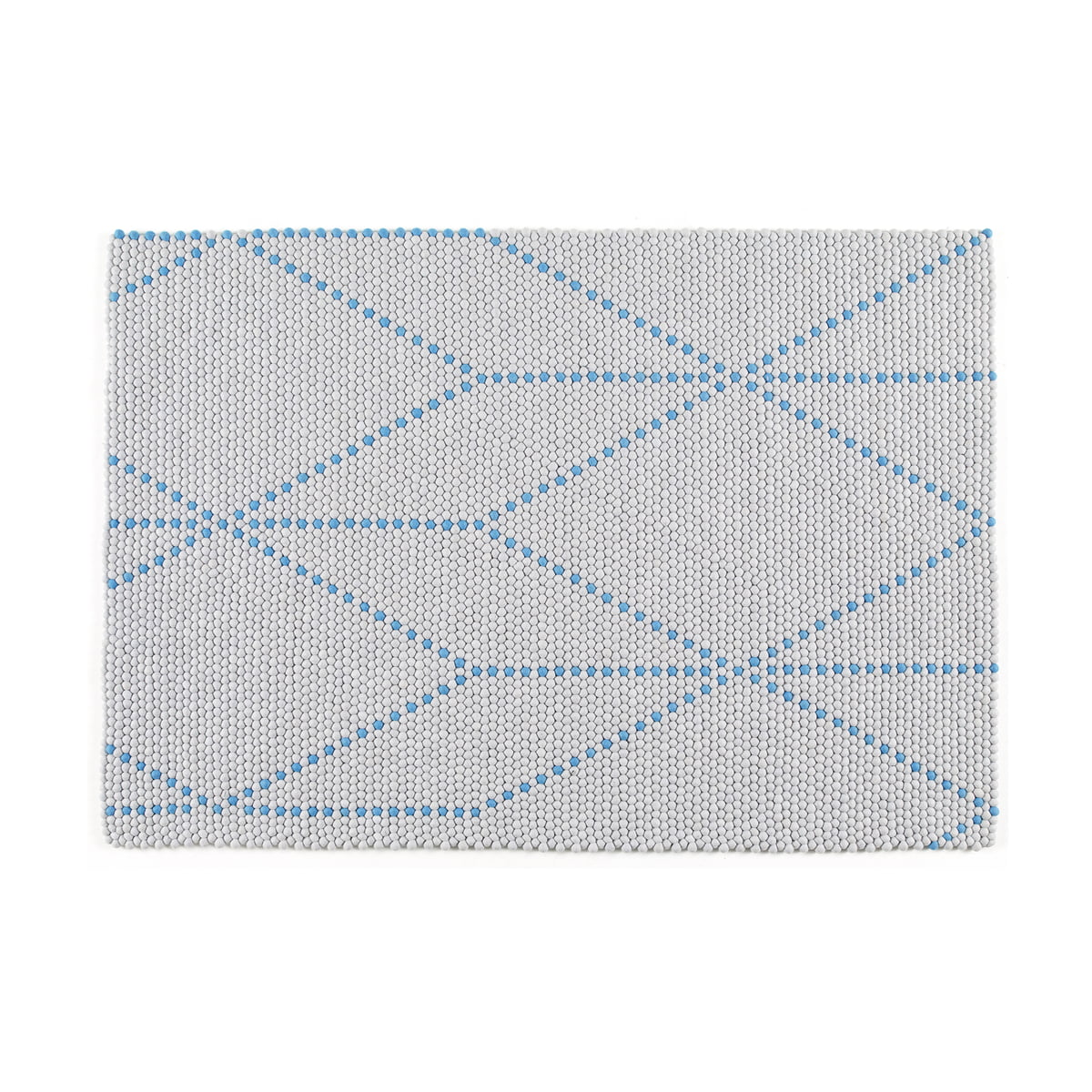 Der Hay - S&B Dot Carpet in big blue, 120x170cm