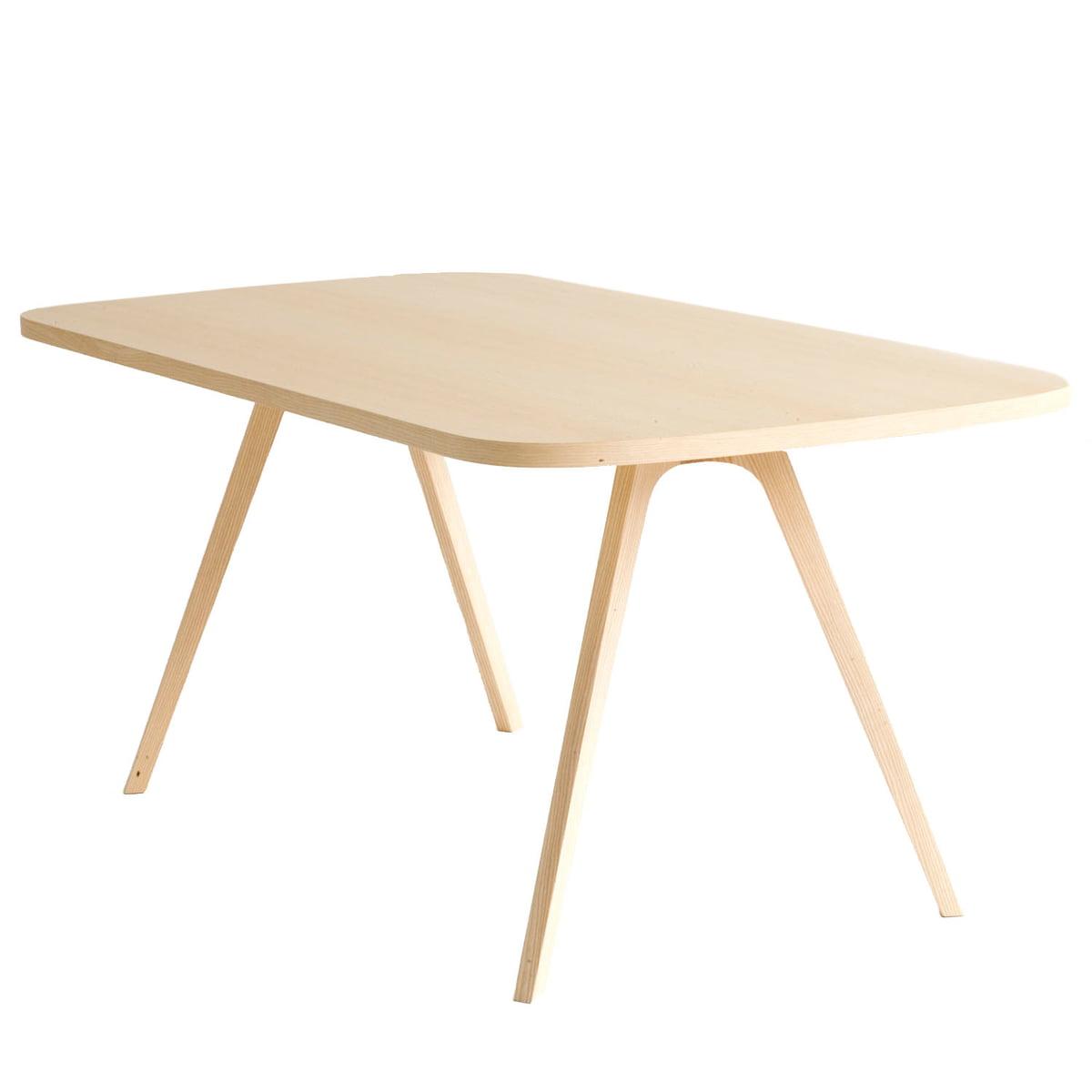 43 Tisch, 90 x 170 cm, Esche natur