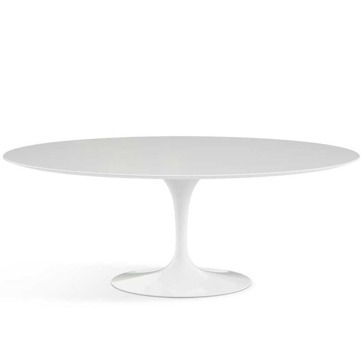Esstisch weiß oval  Saarinen Tulip Esstisch von Knoll