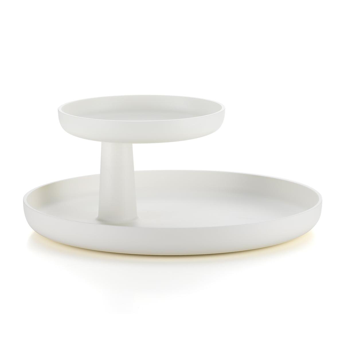 Vitra - Rotary Tray, weiß