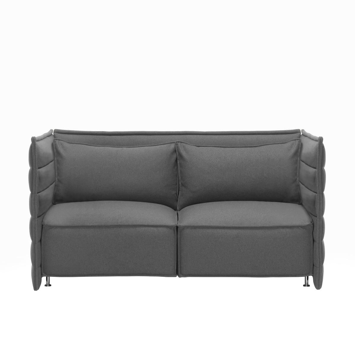 Alcove plume sofa von vitra im shop for Sofa ohne kissen