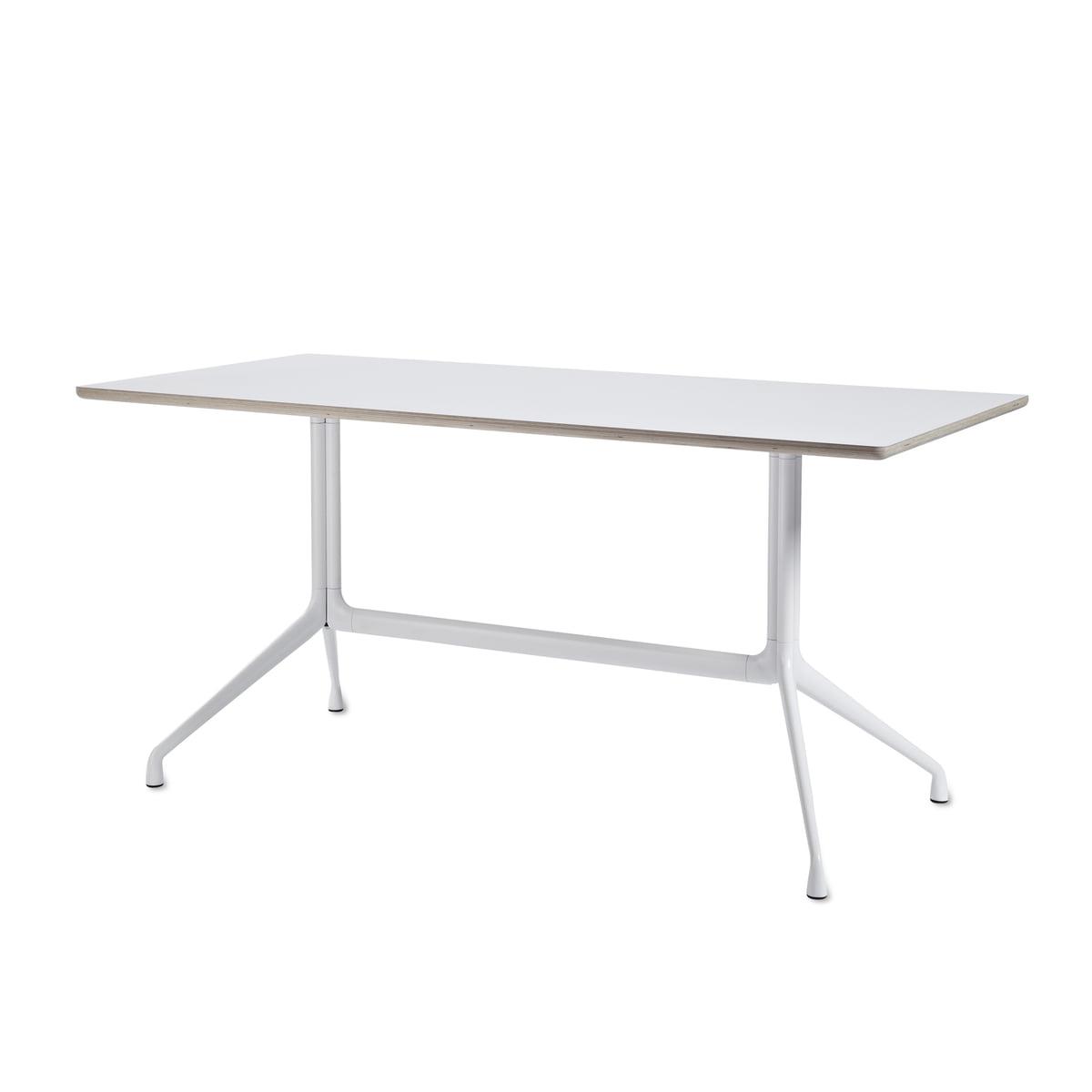 About A Table AAT 10 Esstisch, 160 x 80 cm, weiß / weiß