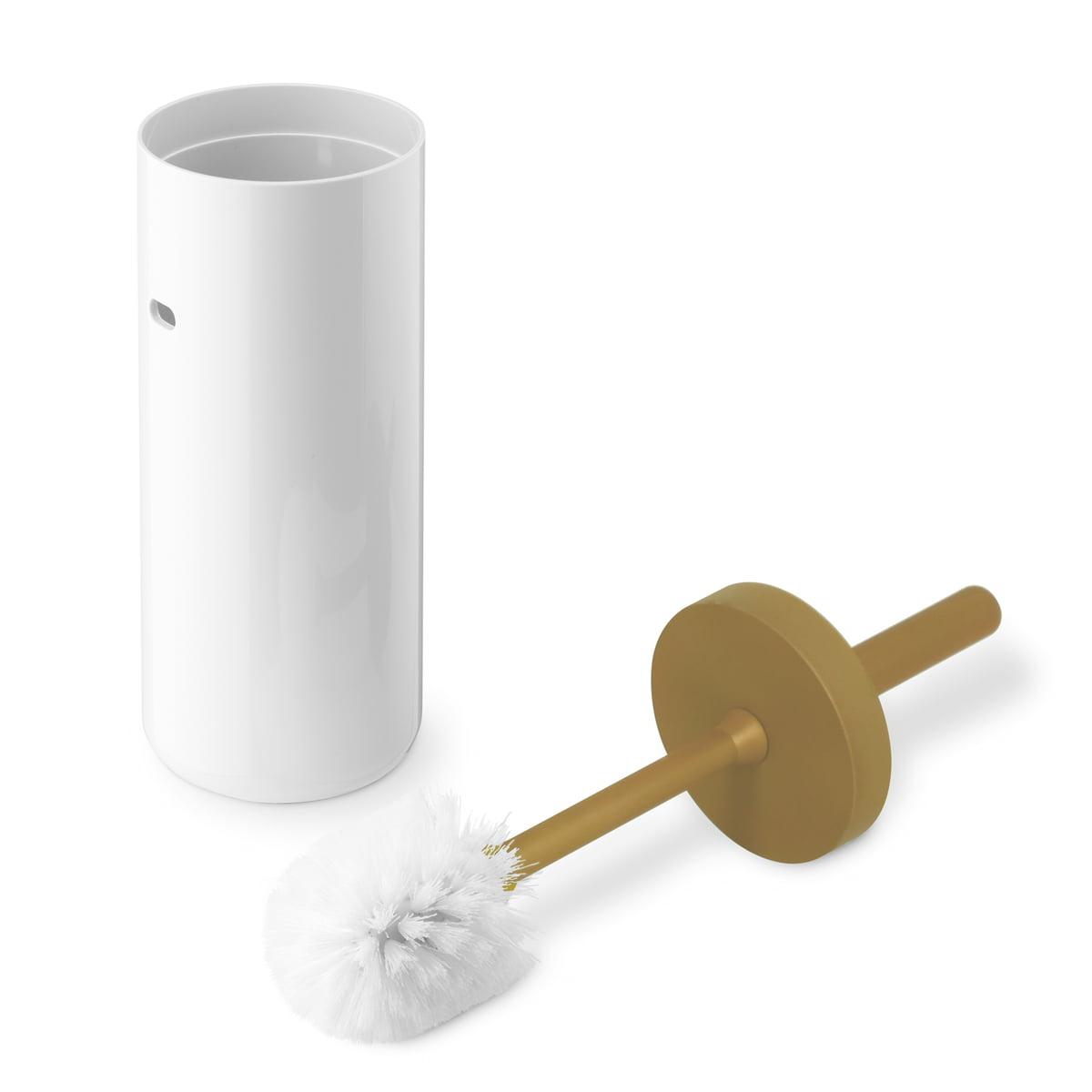 Lunar WC-Bürste gold