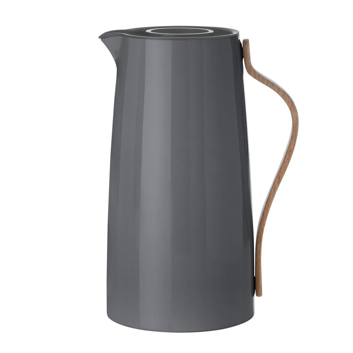 Emma Kaffeeisolierkanne, 1.2 l, grau