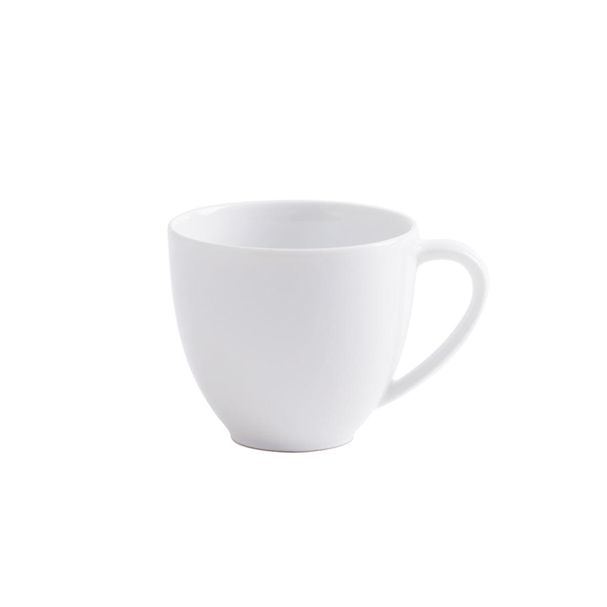 Magic Grip Espresso- / Mocca-Obertasse, weiß