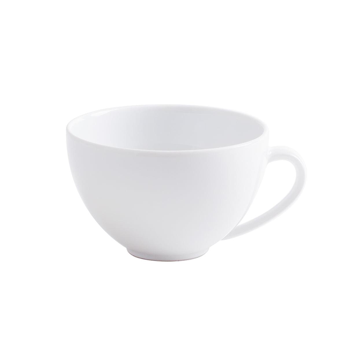 Magic Grip Kaffee-Obertasse, weiß