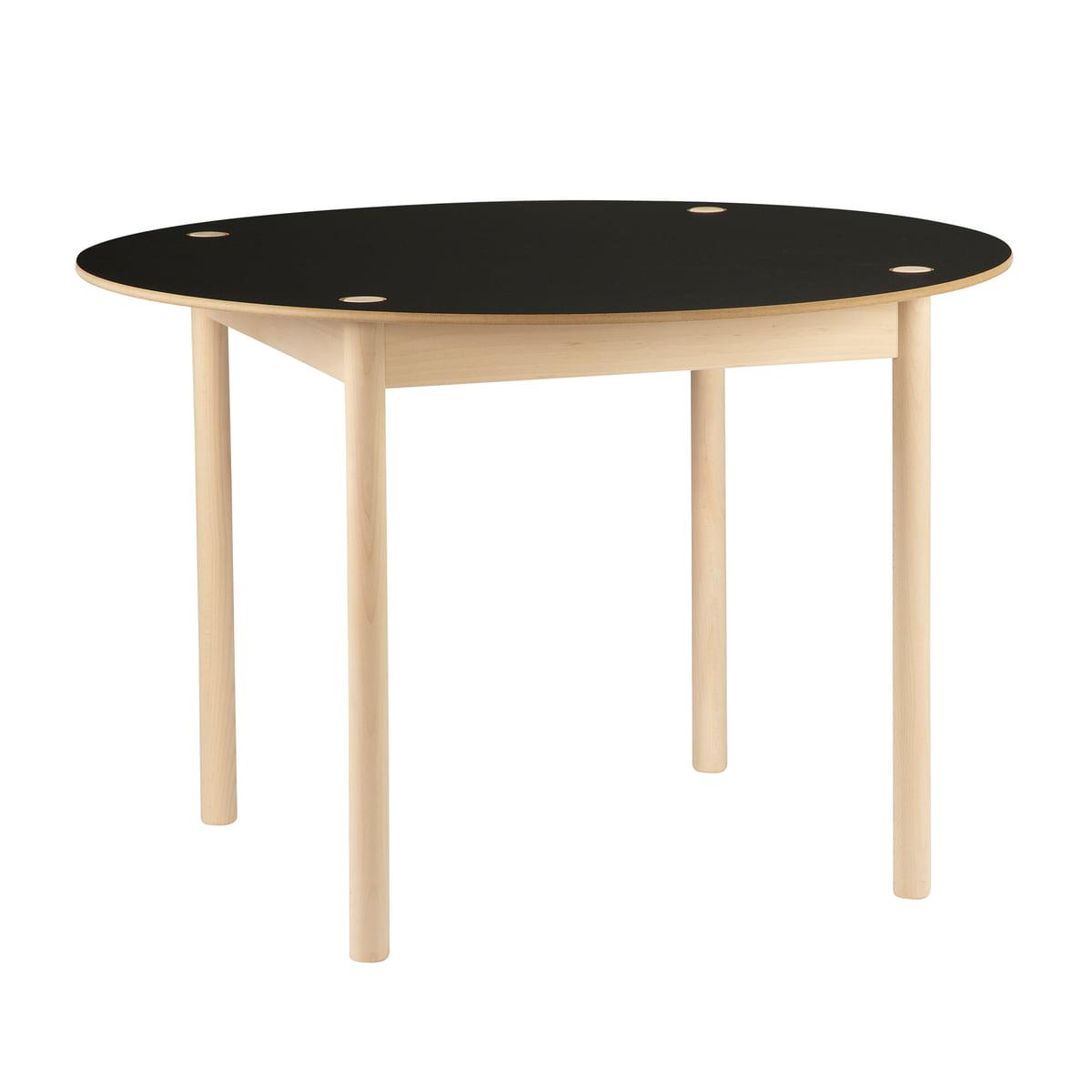 Tisch designklassiker rund  C44 Tisch rund von Hay im Design-Shop