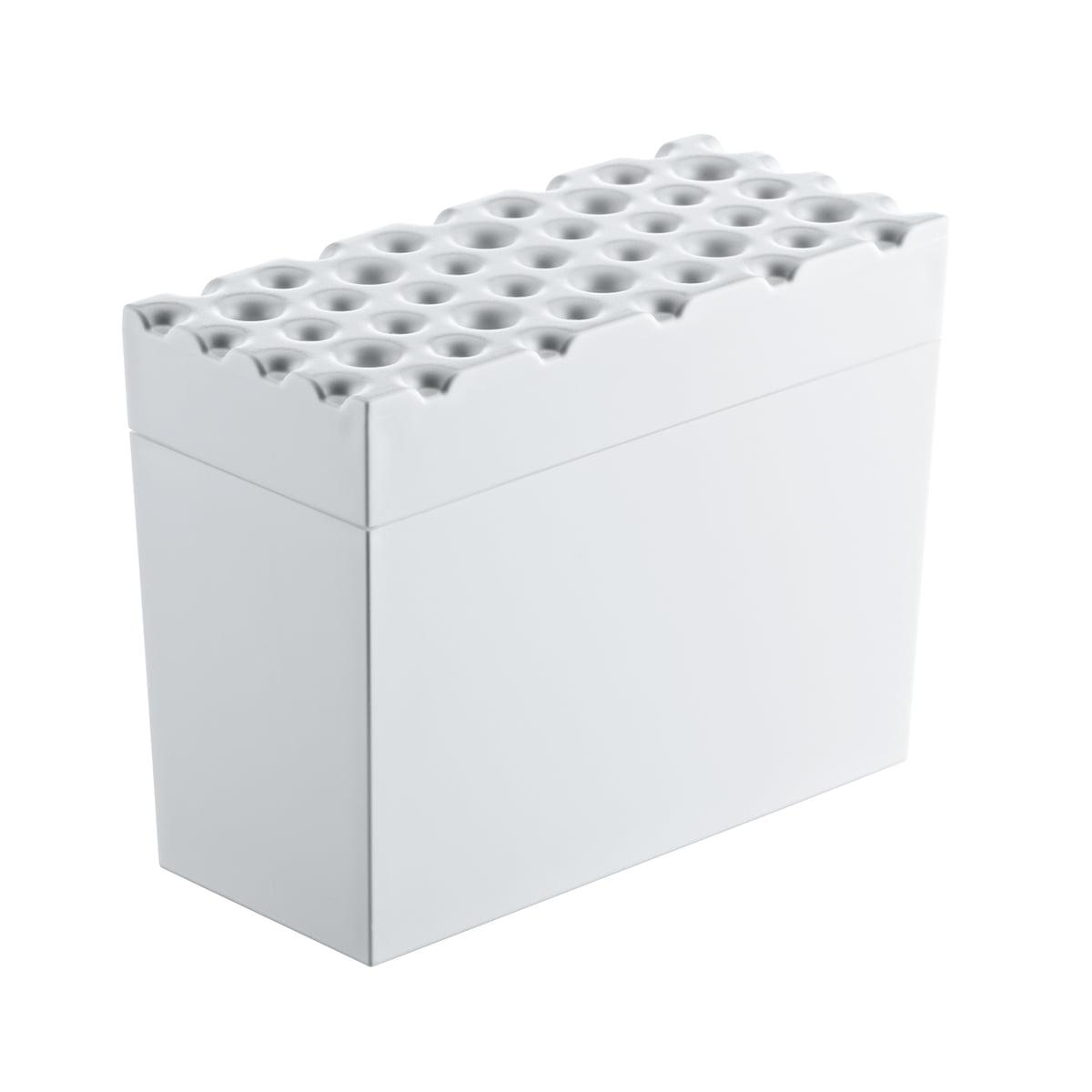 Koziol - Brød Knäckebrotbox, weiß