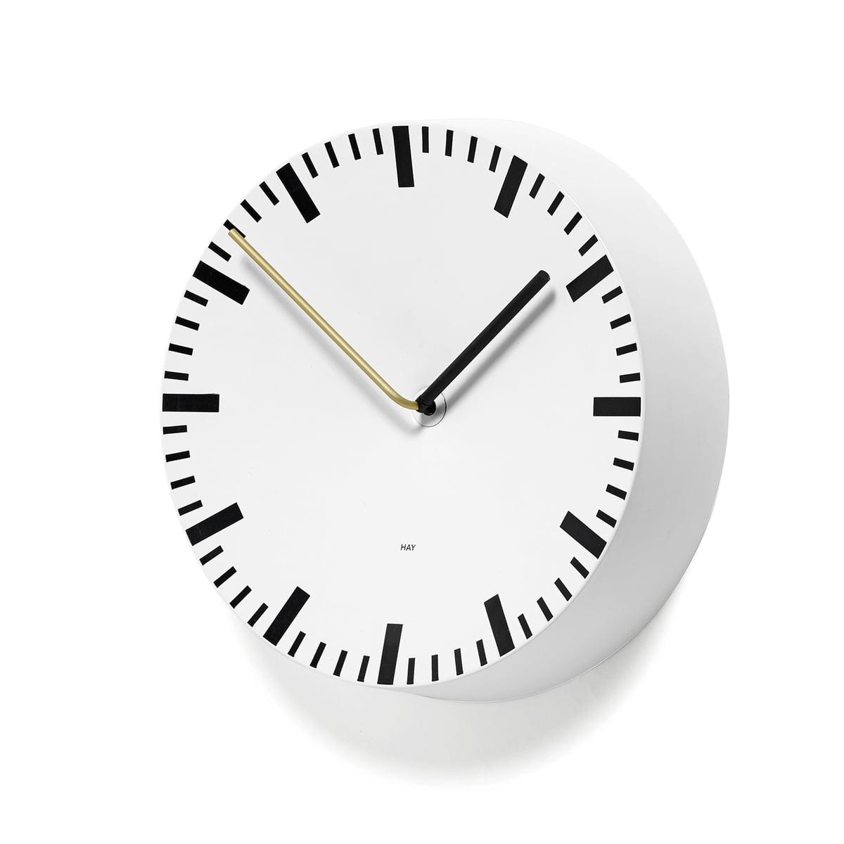 HAY - Analog Uhr, weiß